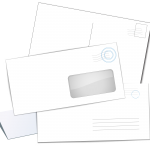 there are many sizes of envelopes