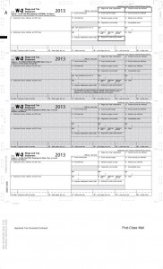 pressure seal tax form