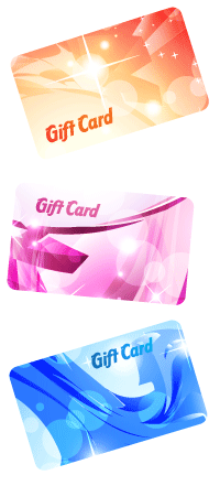 Custom Printed Plastic Gift Cards